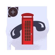 Messageur Accessibilite Sourd Cabine Telephonique