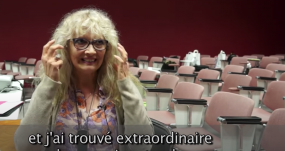 """Témoignage De Véronique Lecapitaine Dans La Vidéo Réalisée Dans Le Cadre Du Prix Ocirp En 2015 - """"J'ai Trouvé Extraordinaire De Pouvoir Entendre"""""""