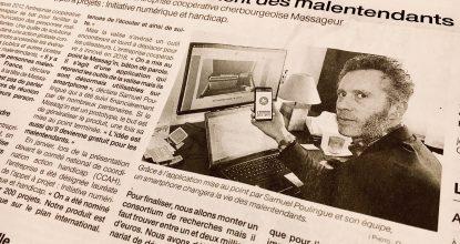Le Messageur Dans Ouest France Cherbourg