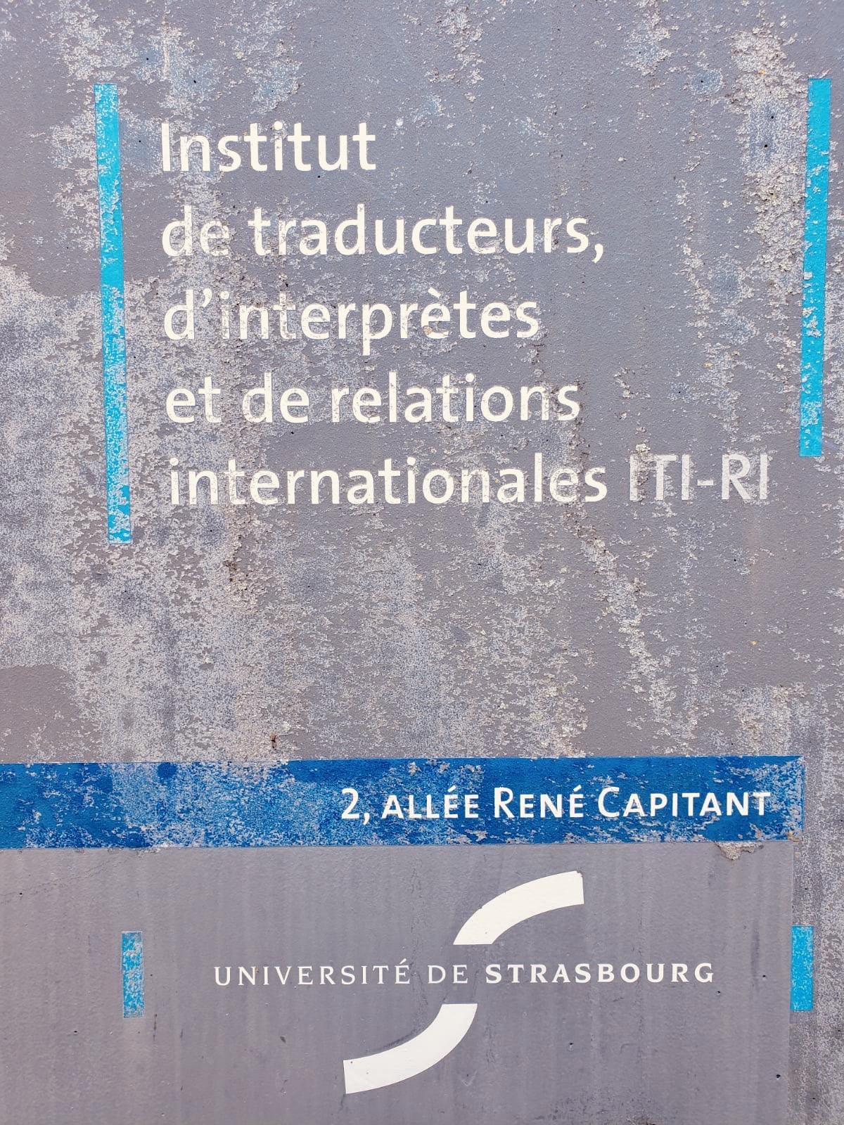 Présentation Du Métier D'interprète De L'écrit à L'ITIRI