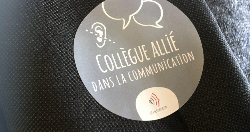 Collegue Allie Dans La Communication