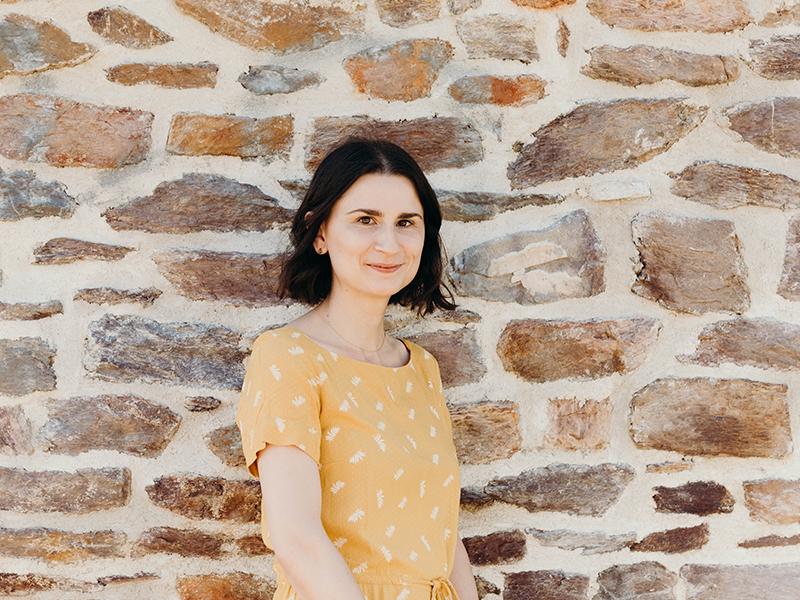 Florie Lefebvre, interprète de l'écrit à la Scop Le Messageur