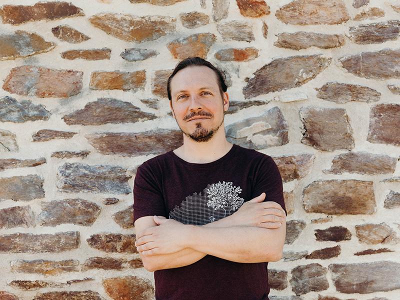 Jérôme Lefebvre, régisseur technique de la Scop Le Messageur