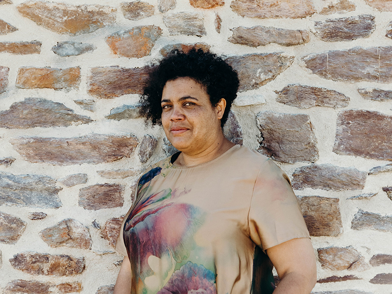 Muriel Boivin, interprète de l'écrit à la Scop Le Messageur