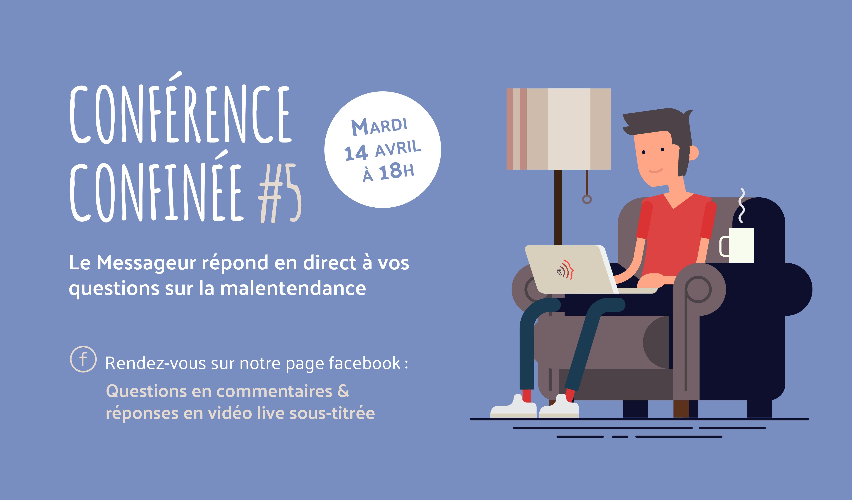 Conférence confinée #5 - Le Messageur - Le sous titrage en temps réel et le métier d'interprète de l'écrit