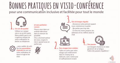 Adoptez Des Pratiques Inclusives En Visio-conférence
