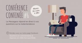 Conférence Confinée #6 - Le Messageur - Malentendance - Téléphone Et Visioconférence