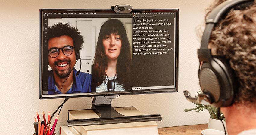 Le Messageur Réalise Le Sous-titrage De Vos événements Digitaux, Réunions Et Webinaires En Visioconférence