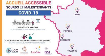 Elioz Connect Mis à Disposition Des Hôpitaux De Toulouse, Poitiers, Paris Et Bordeaux Pour Rendre Accessible L'accueil Des Patients Sourds Et Malentendants