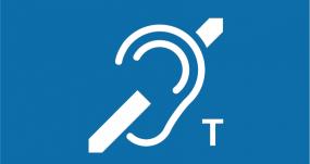 Pictogramme Boucle Induction Magnetique Accessibilite Handicap Auditif