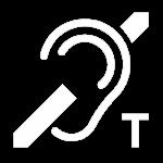 picto boucle magnétique sur fond transparent png