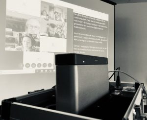 La valise Diluz, dans les bureaux du Messageur à Rennes