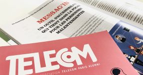 Article Sur L'application Messag'in Paru Dans La Revue Telecom De L'association Telecom Paris Alumni