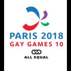 Logo Gay Games Paris 2018