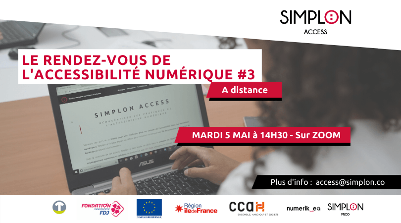 Accessibilité Aux Personnes Malentendantes Pour Le Webinaire De Simplon.co Sur L'accessibilité Numérique