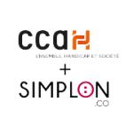 Logo Appel à Projets CCAH + Simplon