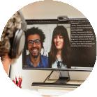 Le Messageur Sous-titre En Direct Vos Réunions Et événements En Visioconférenceen