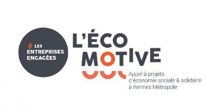 Logo De L'écomotive, Appel à Projets ESS De Rennes Métropole Dont Le Messageur Est Lauréat En 2020