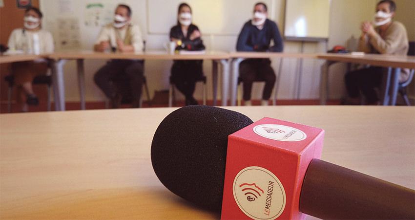 Sensibilisation au handicap auditif pour les collègues d'Emmanuel