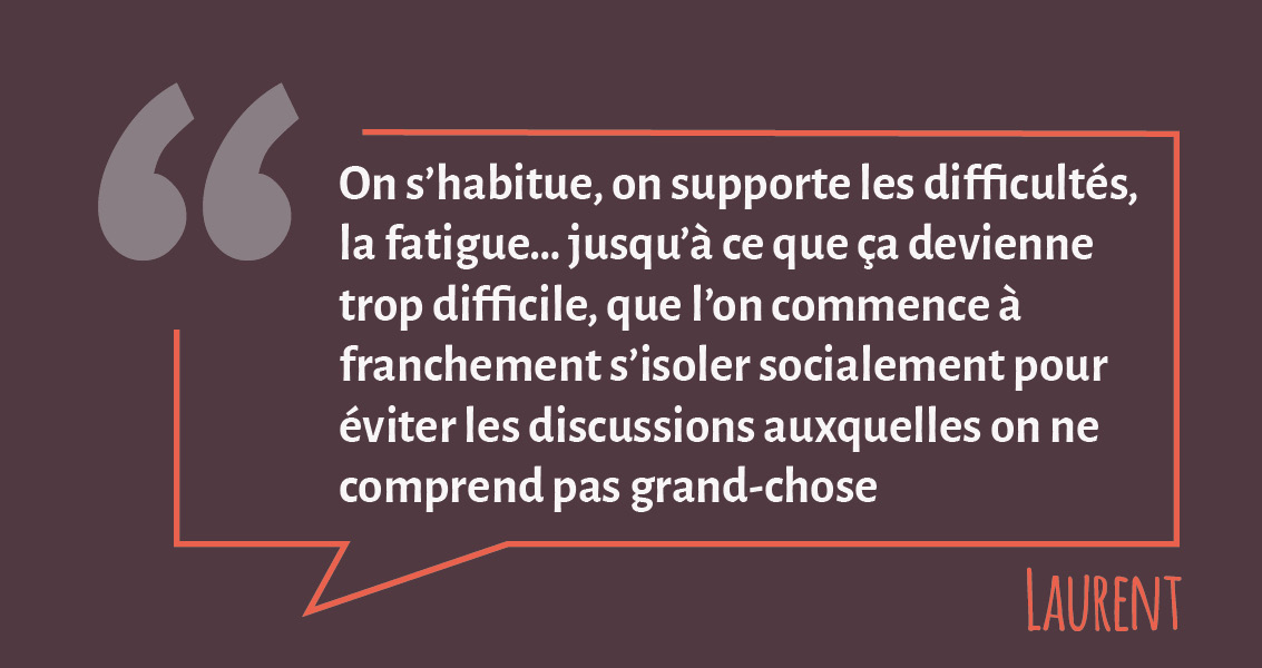 Témoignage de Laurent, salarié du CEA Grenoble, suite à la série de webinaires proposés par la Mission Handicap, en coopération avec Le Messageur