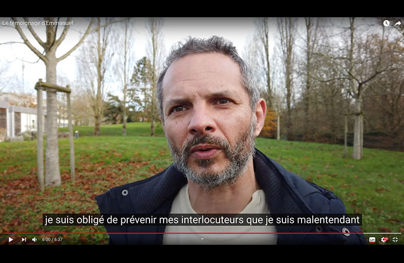 Témoignage d'Emmanuel sur son adaptation de poste de travail par Le Messageur
