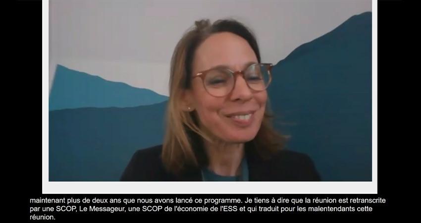 Le sous-titrage en anglais et en français du 5e comité stratégique d'ESS 2024