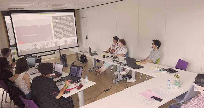 Assemblée générale 2021 du Messageur à la Maison des Scop de Rennes
