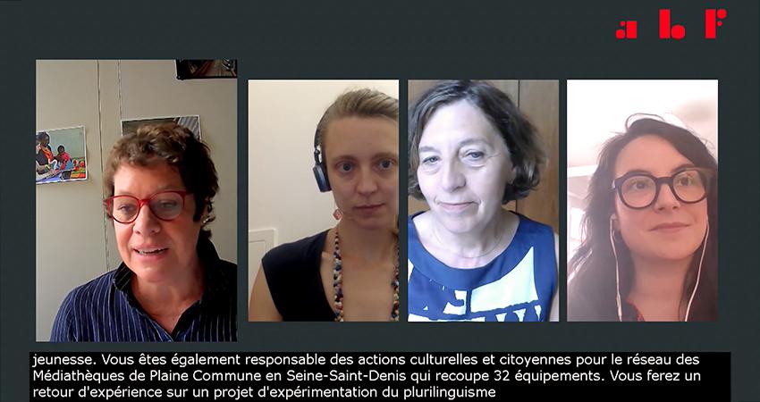 Sous-titrage congrès 2021 de l'Association des Bibliothécaires de France