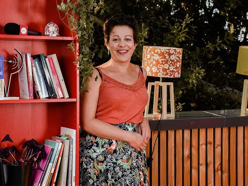 Madeline BLANC, régisseuse technique au Messageur