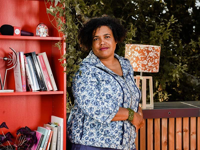 Muriel BOIVIN, interprète de l'écrit responsable planification transcription au Messageur