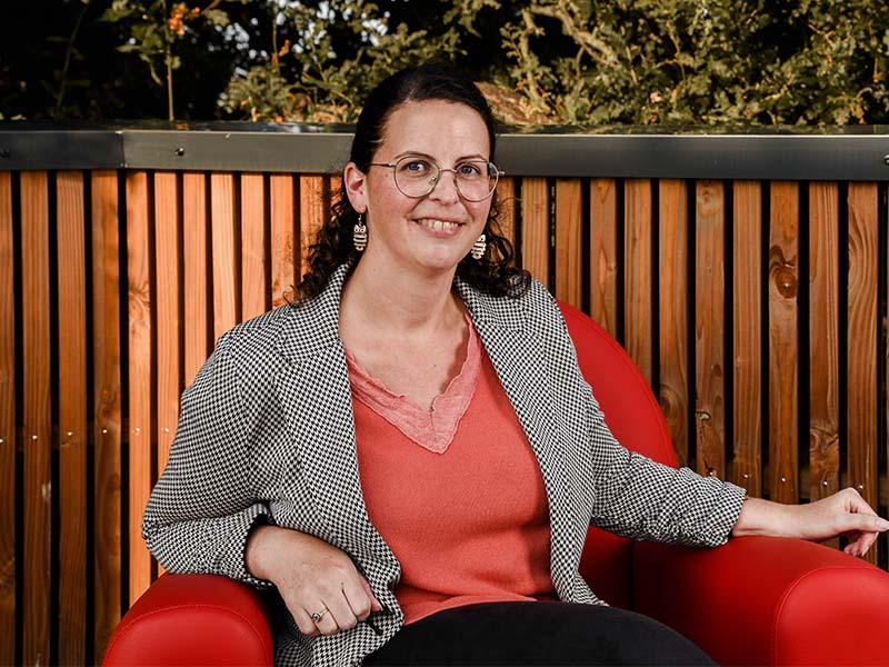 Nolwenn DUTERTRE, responsable finances et ressources humaines au Messageur