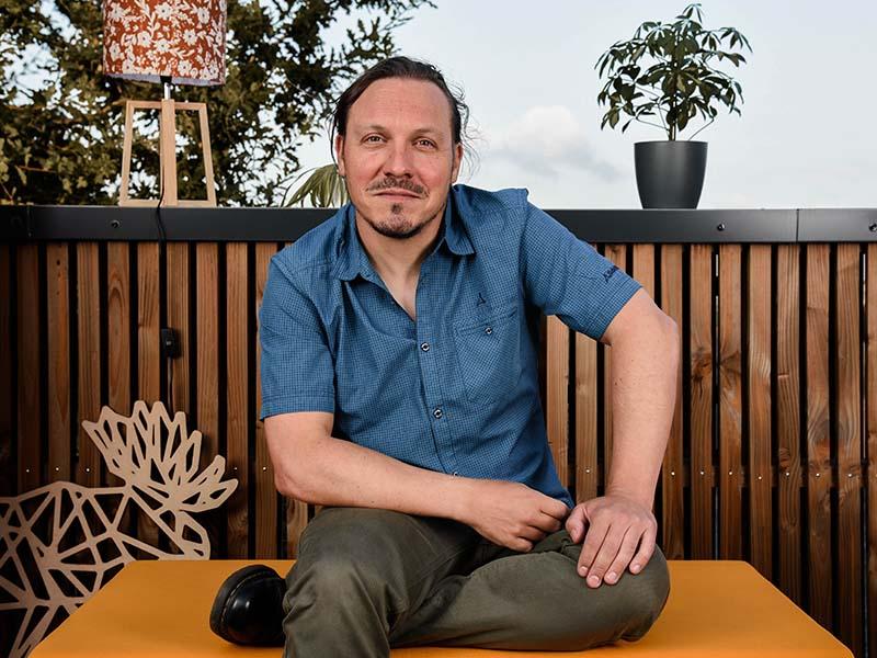 Jérôme Lefebvre, régisseur technique au Messageur